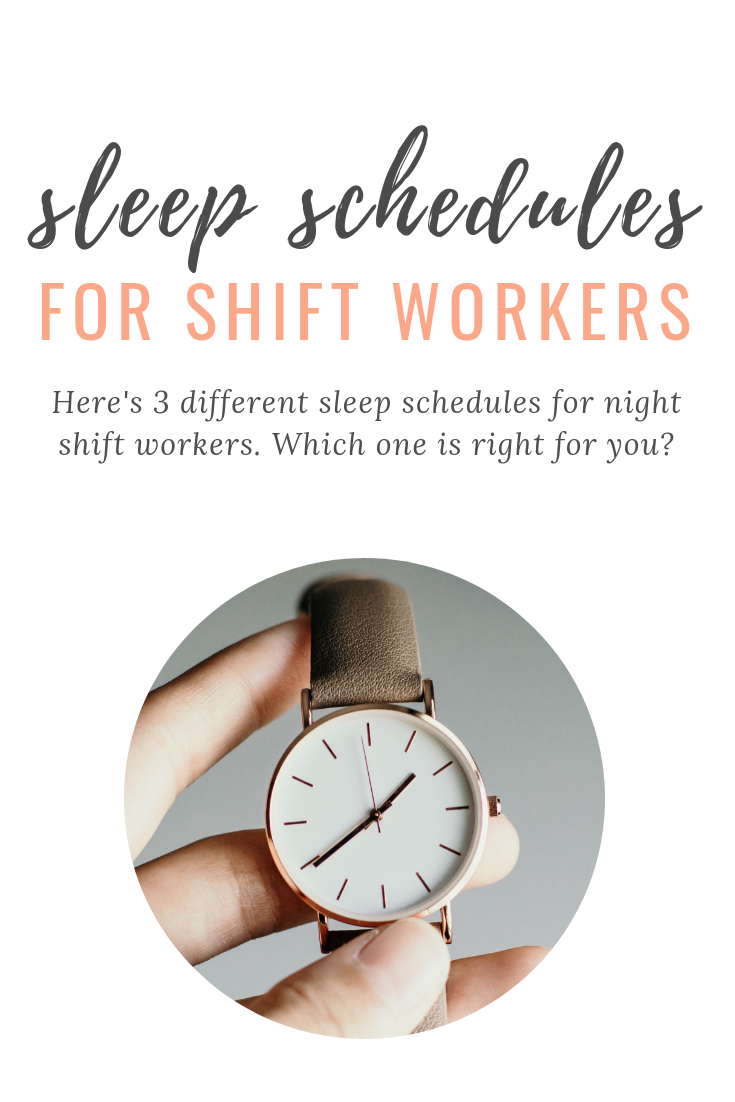 Sleep Schedules for Shift Workers